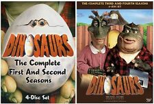 "DINOSAURS COMPLETE SERIES 1-4 COLLECTION 8 DISC DVD BOX SET ""NEW&SEALED"""