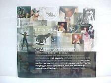 Rare 2003 Tim McGraw ~ Acm Promo Program for Album Vocalist Entertainer of Year