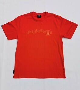 """Mountain Equipment T-shirt - Mens Medium - M - Red - BNWOT New 23"""" P2P - Hiking"""