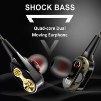 3.5mm Bass Stereo In-Ear Headphones Earbuds Earphones Headset for Samsung iPhone
