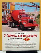 1964 Diamond T Truck Model P4360 P5360 Sales Folder & Specifications