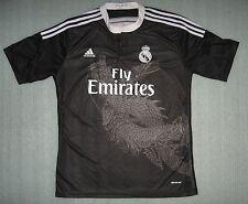 Adidas 2014-15 Real Madrid #11 Gareth Bale Yamamoto Dragon Jersey Black Size XL