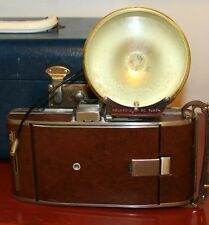 Vintage Retro  Polariod Land Camera Model 95 B Tan Chrome Folding Portable
