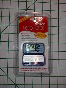 Omron HJ-105 Pedometer. Now counts Aerobic Steps!! Brand New in Sealed Package