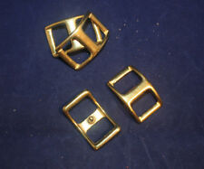 """Buckle - Conway 1"""" - Solid Brass - Pack of 12 (F248)"""