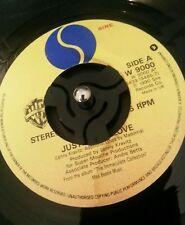 "Madonna-Justify My Love W 9000 1990 7"" single joue VG +"