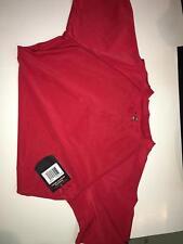 Intensity N6812 Short Sleeve Compression Shirt, Scarlet, XL