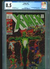 X-Men #55 CGC 8.5 (1969) Living Pharaoh Origin of Angel 1st Mutant Alex Summers