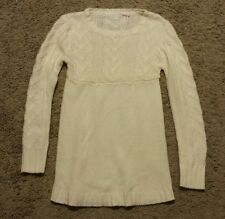Sweater Dress size large L - cream