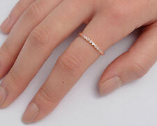 USA Seller Eternity Rose Ring Sterling Silver 925 Best Deal Jewelry Size 4