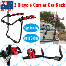 3 Bicycle Car Rear Bike Rack Mount Cycle Carrier Universal Hatchback Foldable AU