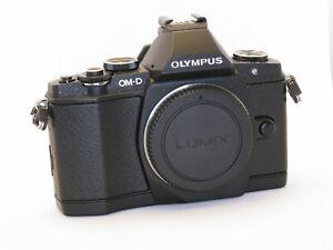 Olympus OM-D E-M5 16.1MP + Zuiko ED 14 – 42 + 2-teiliger Handgriff