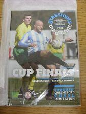 Revista de movilización de May-2010: edición 10-el único domingo Liga de fútbol Magazin