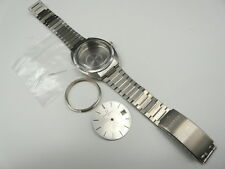 New Old Stock ETERNA Stainless Steel Watch Case Dial Hands Band (For Cal 2824)