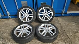 "Seat leon fr 17"" Alloy wheels WV Skoda"