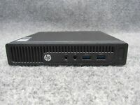 HP 260 G2 DM Mini Computer Intel Core i3-6100U 2.30GHz 4GB RAM 250GB HDD