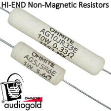 100ohm tutti i valori Jantzen audio superes 5w di 0,47ohm 30 pezzi