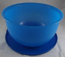 Tupperware Junge Welle 7,5 l XXL Schüssel mit Deckel Dunkelblau Blau Neu OVP