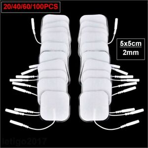 5x5cm Reusable Tens Machine Replacement Electrode Pads Gel Body Massager