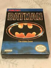 Batman The Video Game (Nintendo NES, 1990) BRAND NEW H-SEAM SEALED NIB SUNSOFT