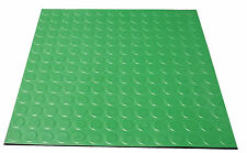 GREEN Indoor highest quality pimple stud rubber tiles 500mm x 500mm x 2.7mm
