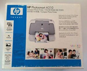 Brand New HP Photosmart A310 Compact Photo Printer