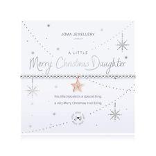 Joma Jewellery A Little Merry Christmas Daughter - Bracelet avec Pochette Cadeau