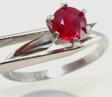 Solitaire Ruby 14k Fine Rings