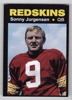 Sonny Jurgensen '74 Washington Redskins Monarch Corona Glory Days #34 NM-MINT