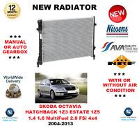 Para Skoda Octavia Hatchback 1Z3 Familiar 1Z5 1.4 1.6 2.0 2004-2013 Radiador