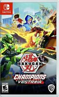 Bakugan: Champions of Vestroia (Nintendo Switch) BRAND NEW FACTORY SEALED NSw