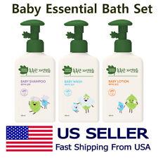 ✔[Green Finger] Baby Essential Bath Set | Body Wash+ Shampoo + Body Lotion✔