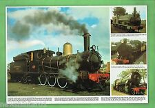 #T103. SIX LAMINATED AUSTRALIAN RAILWAY POSTERS, IDEAL PLACE MATS