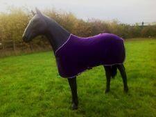 shires wessex fleece rug purple 6ft 9
