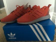 Mens BNIB Adidas ZX Flux Adv Orange Trainers 6.5