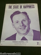ORIGINAL SHEET MUSIC - THE STATE OF HAPPINESS - JIMMY YOUNG