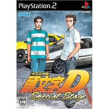 Initial D InitialD Special Stage PS2 Import Japan