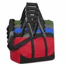 """Lot Of 24 Duffle Bags Travel Size Sports Gym Blank 17"""" Wholesale CHOOSE COLOR"""