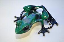 FOCUSED Frogman Tim Cotterill Bronze Frog RETIRED