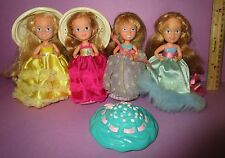 Vintage Tonka Cupcake Doll Cotton Candy Cherry Chip Cutie Fruiti Sprinkles Lot A