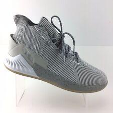 Adidas D Rose 9 Men Basketball Shoes Grey Silver Sport  Mens Size 14 M Shoes R90