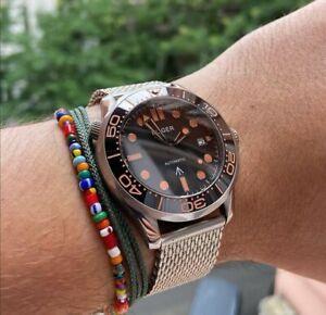 41mm Sterile dial sapphire Glass Miyota date ceramic bezel automatic men's watch