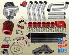 For Nissan Sentra SE-R Altima QR25DET 8PC TURBOCHARGER TURBO KIT MANIFOLD FMIC R