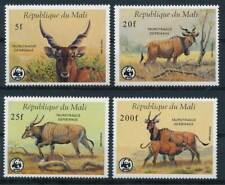 254261) Mali Nr.1078-1081** WWF Gazellen Waldelen