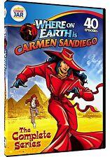 WHERE ON EARTH IS CARMEN SANDIEGO: COMP SERIES (Moreno) - DVD - Sealed Region 1