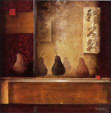 "Don Li-Leger ""Burgundy Melody ll"" Fine Art Reproduction"