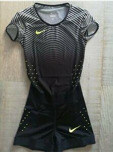 Nike Elite AEROBLADE Sponsored  Athlete Race Singlet Speedsuit SMALL **RARE**