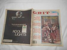 GRIT-JUNE 20,1982-THE COLLEGE THAT'S LOOKING FOR A FEW GOOD'PIPERS'