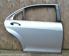 Mercedes S Class Door Shell Right Rear W221 Limo Silver Damaged Door Shell 2006
