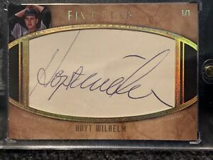 2017 Topps Five Star Hoyt Wilhelm Cut Signature Card 1/1!!!! Chicago White Sox!!